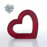 corazón rojo pequeno