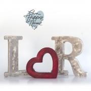 iniciales corazón