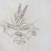 Mesita París rustic chic