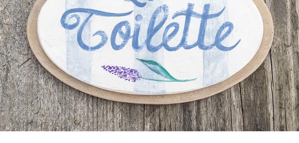 Cartel toilette