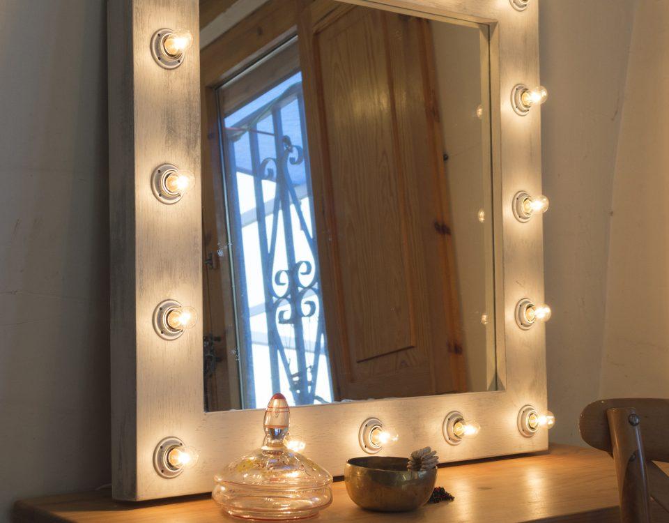 espejo luces