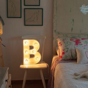 letra con luces