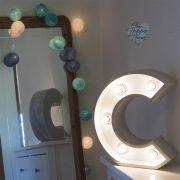 letras con luces eventos