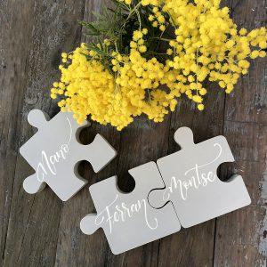 piezza puzzle madera