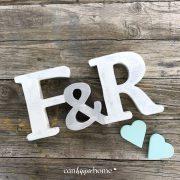 iniciales para boda