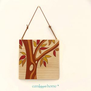 Kit pintar por números arbol otoño